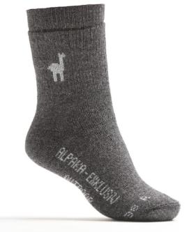 Alpaka Outdoor Socken 80% Alpaka
