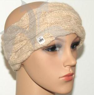 Alpaka Stirnband 3-fach Zopf