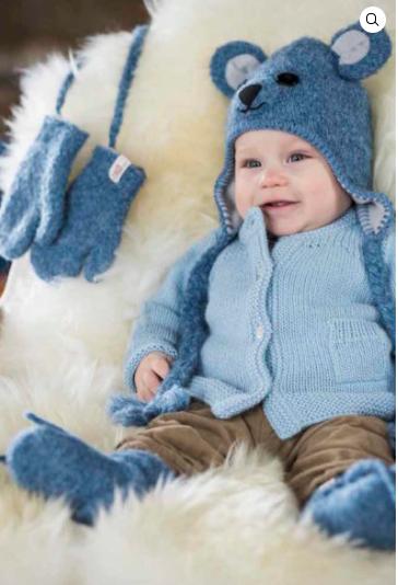 Alpaka Baby Set 82% Alpaka