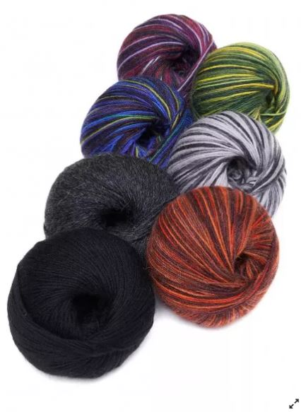Alpaka Sockenwolle